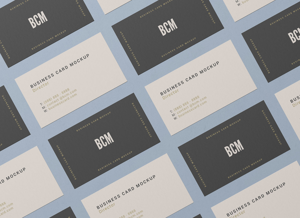 Free Front Back Top View Business Card Mockup Psd Good Mockups Business Card Mock Up Business Cards Mockup Psd Free Business Card Mockup