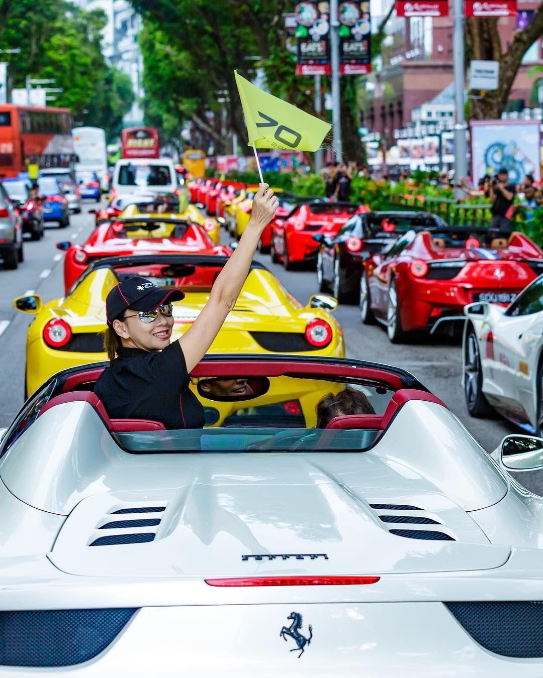 Who Wouldn T Be Happy Sitting In This Traffic Jam Ferrari Futuristic Cars Ferrari Super Cars [ 1350 x 1080 Pixel ]