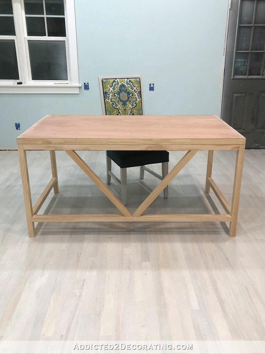 How To Build A Simple DIY Writing Desk Writing desk diy