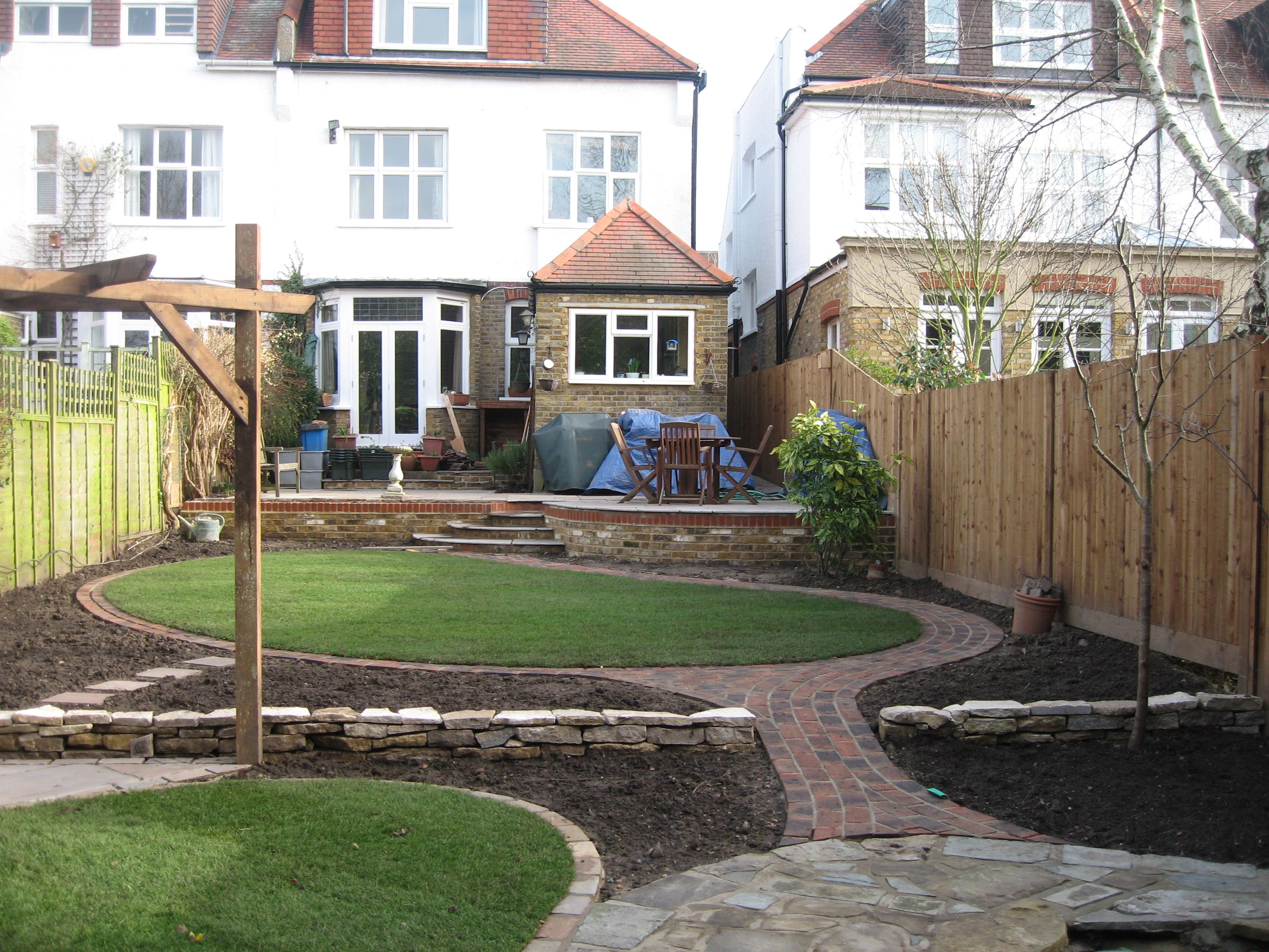 Testimonials Landscape Gardening Design And Construction In Hampton Richmond Twickenham Kingston And Teddington Giardino Foto