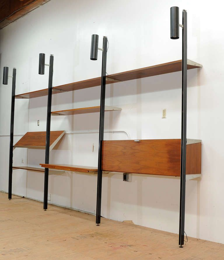George Nelsonu0027s CSS Comprehensive Storage System Wall