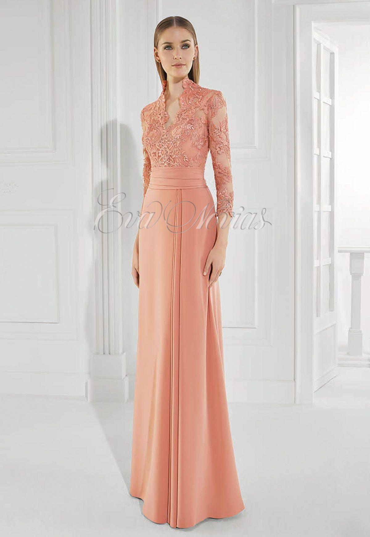 f21a97d8c1 Vestido de fiesta Patricia Avendaño 2016 Modelo 3008 en Eva Novias Madrid.   vestido  moda  fashion  dress  madrina  tienda  madrid  boda  redcarpet