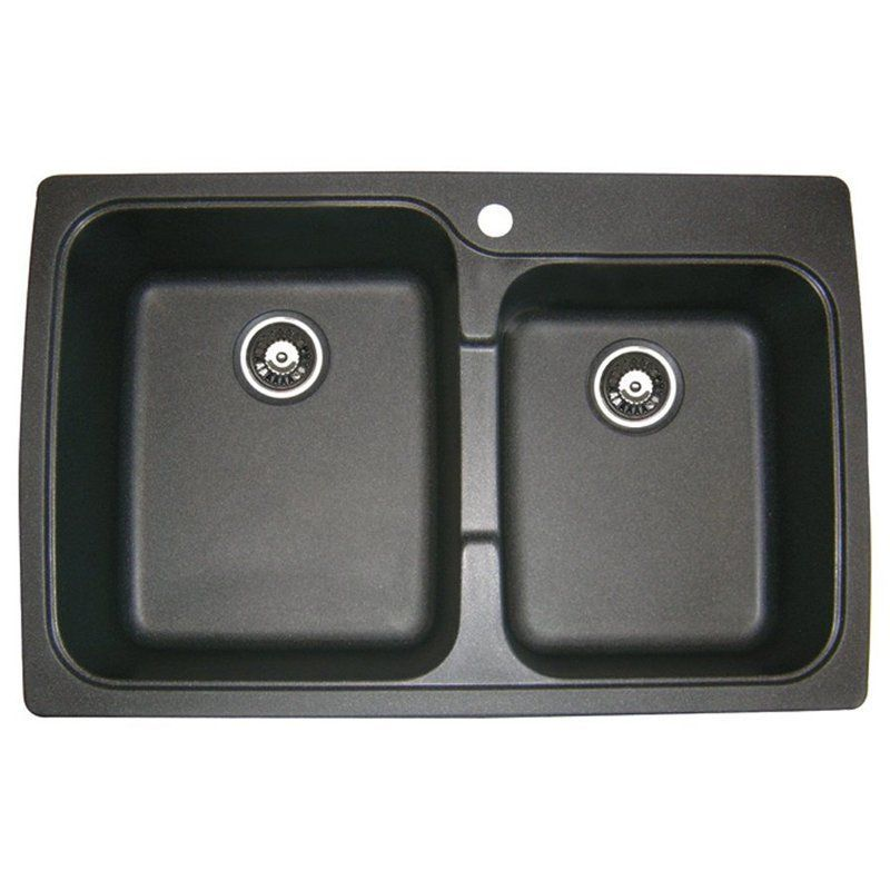 jacuzzi as us20russk astracast 33 double basin drop in granite rh pinterest ch