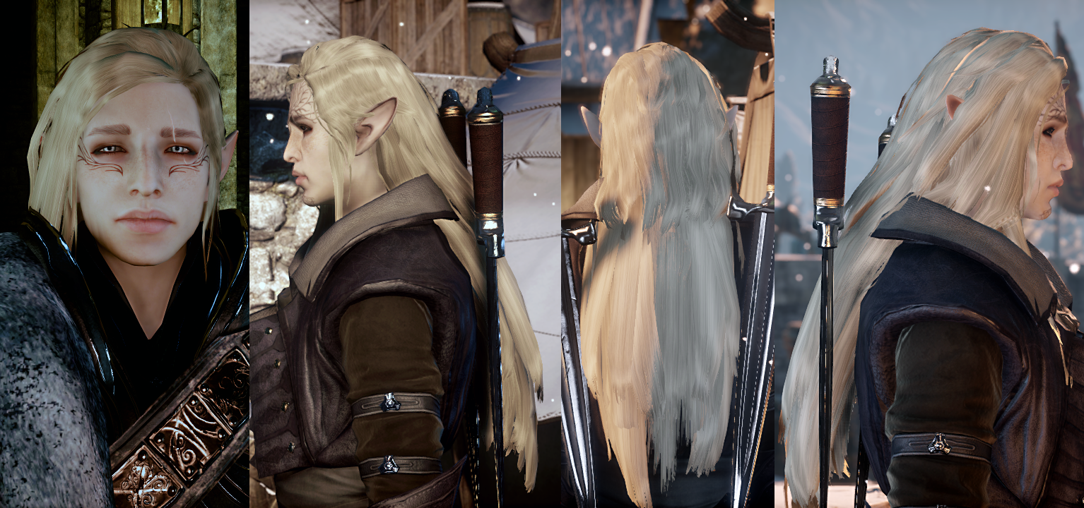 Brocade Outfit expanded - HF EF DF at Dragon Age