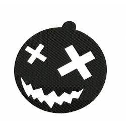 Silhouettes Halloween Pumpkin Embroidery Design ...