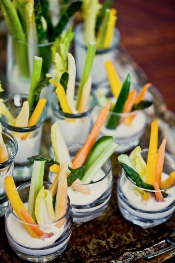 wedding reception dinner ideas on budget%0A Wedding Ideas  Bridal Shower Food Ideas  Cute idea for veggie dips