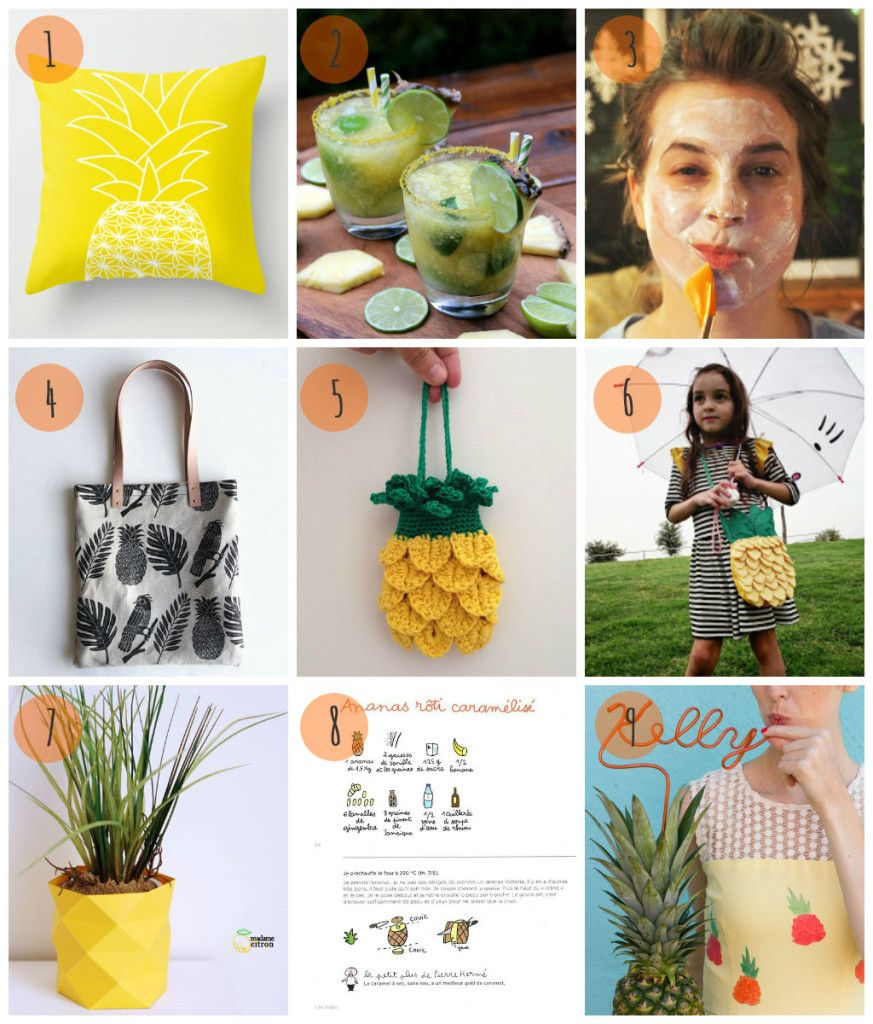 I see pineapples everywhere | Selection #2 by We Make A Pair