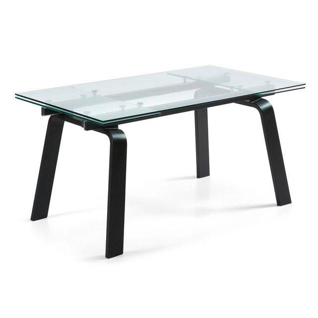 TransparentStructure En Trempé Verre Avec Extensible Table Dessus E2YeIH9WDb