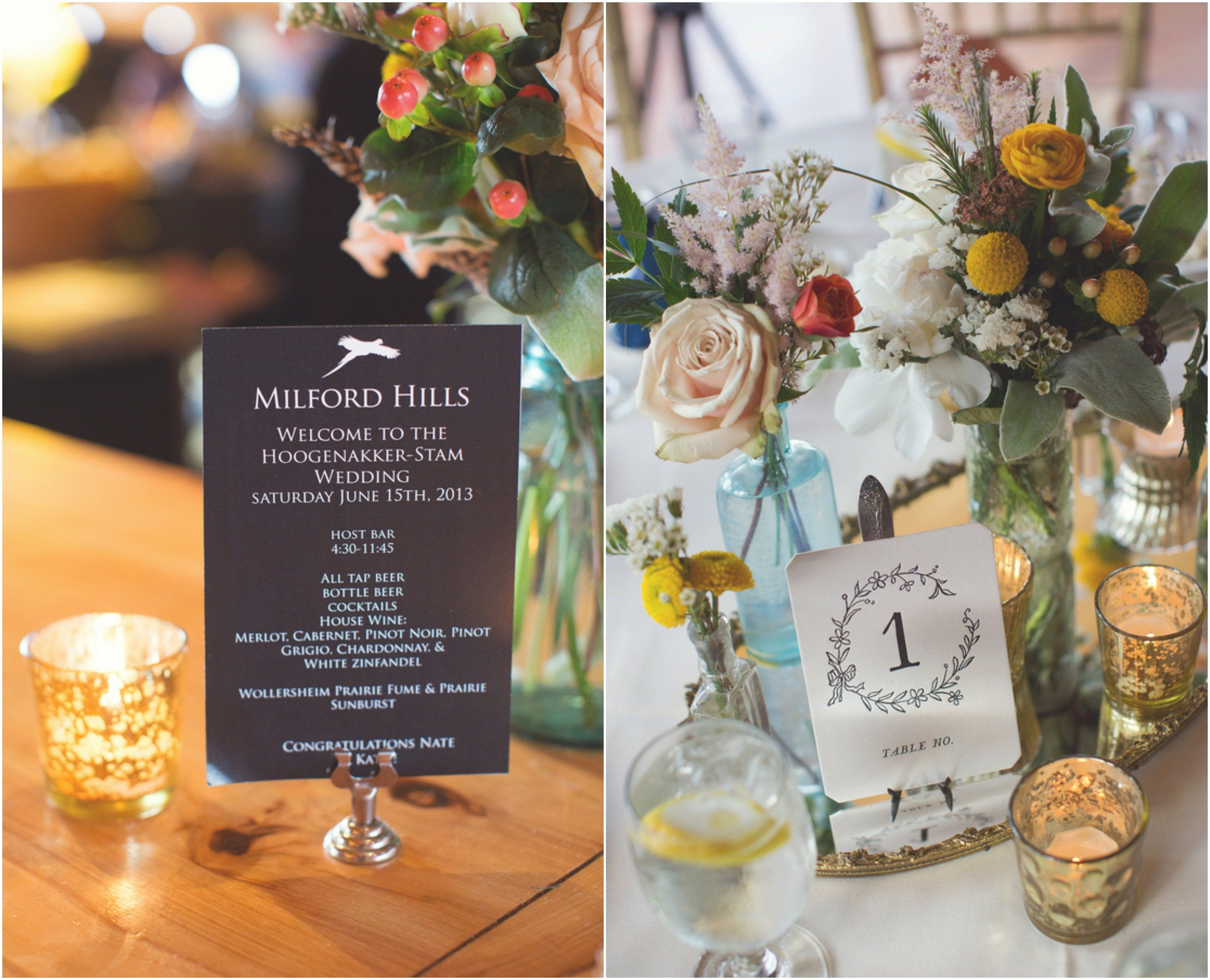 Wedding decorations without flowers  Vintage Rustic Style Wedding  Vintage wedding centerpieces Wedding