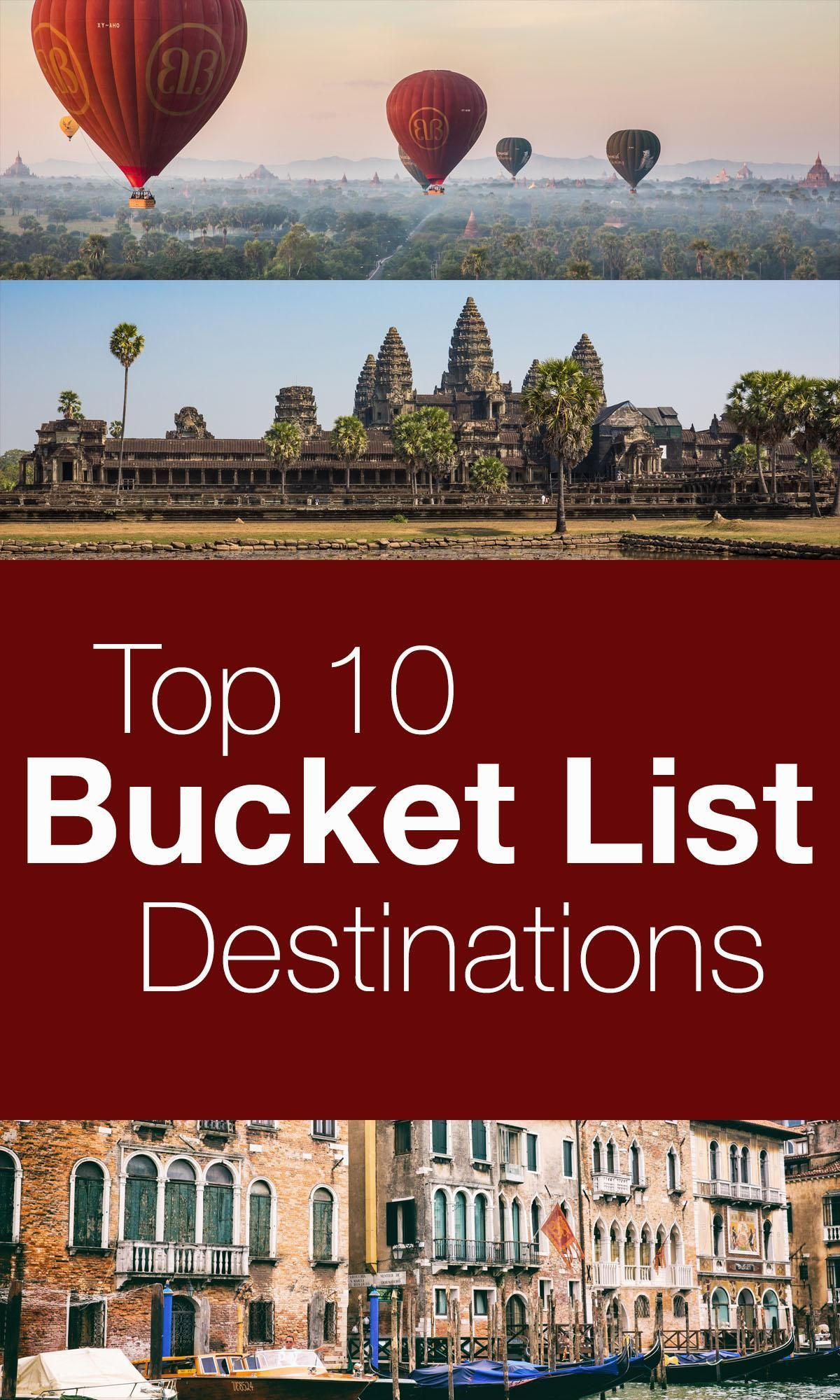 Top10bucketlistdestinationsintheworld