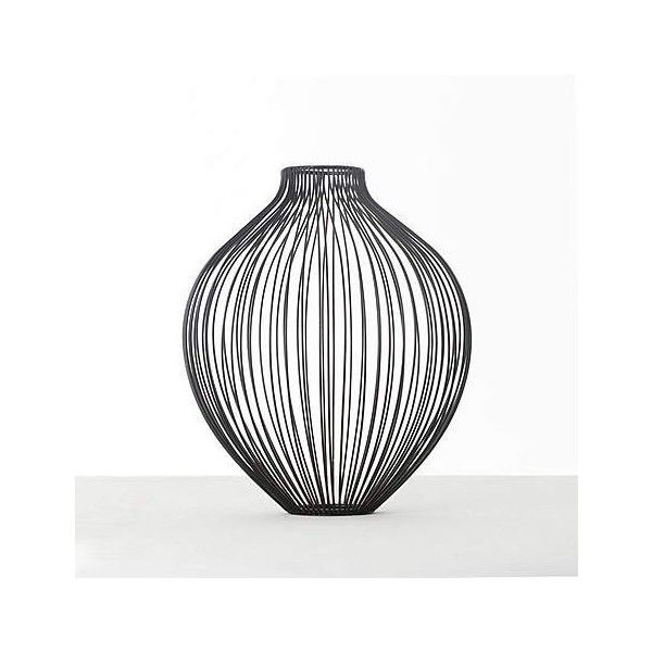 Black Wire Vase 896 Liked On Polyvore Featuring Home Home