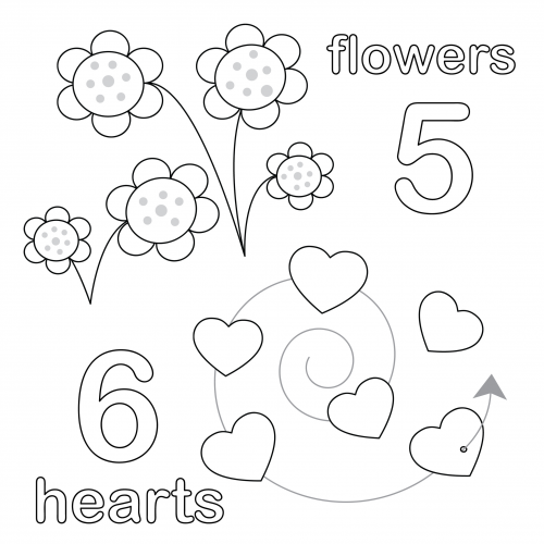 Count And Color Worksheet