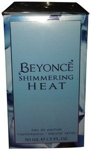 Beyoncé Blue Shimmering Heat Perfume Fragrance In 2019 Chic Scents