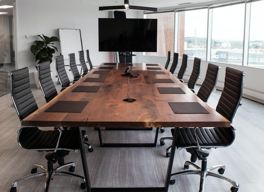 Custom Wooden Boardroom Tables - Son of a Woodcutter Toronto in