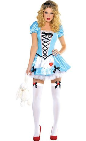Create Your Own Women S Alice In Wonderland Costume Accessories Party City Fancy Dress Halloween Costumes Halloween Fancy Dress Alice Costume