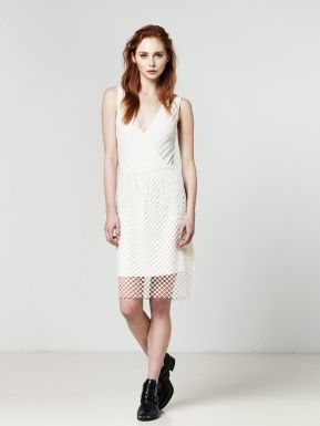 Dirk Dress White