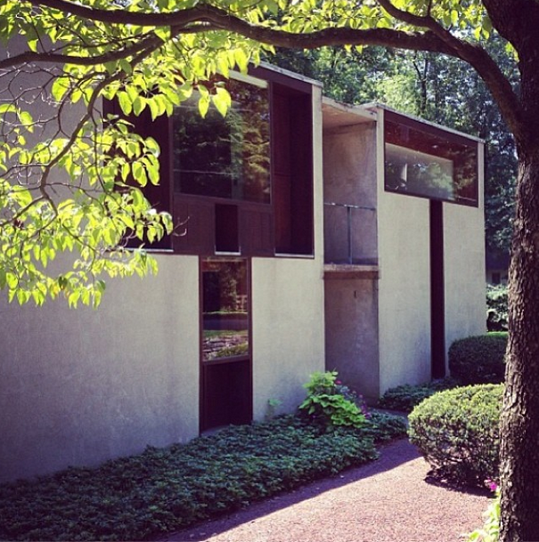 a very special house designed by louis kahn for margaret esherick in rh pinterest com