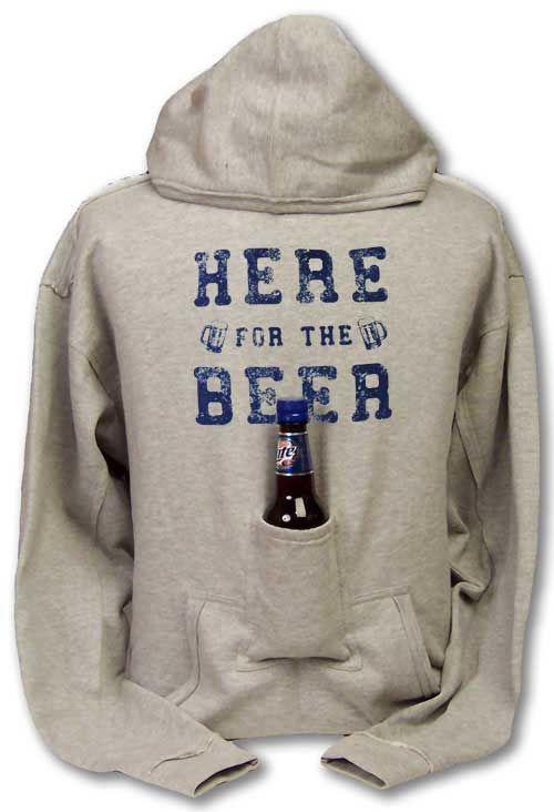 Old Style Beer Ash Grey Hoodie Sweatshirt