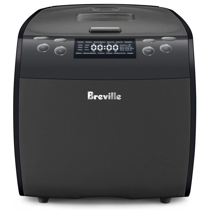 Breville Bread Maker Plus 9 In 1 Multi Cooker Lmc600gry In 2020 Multicooker Bread Maker Breville