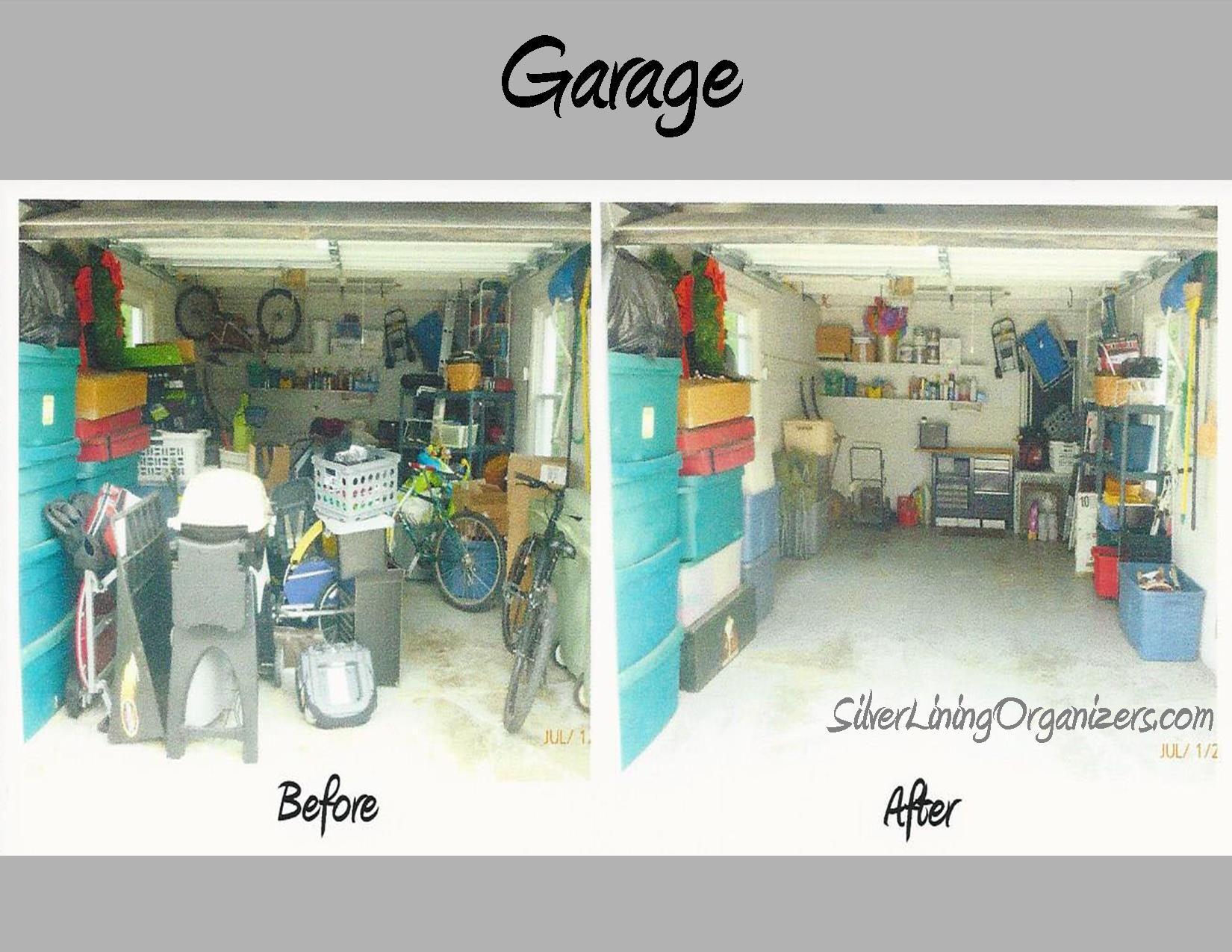 Silver Lining Organizers, Llc Organized Garage