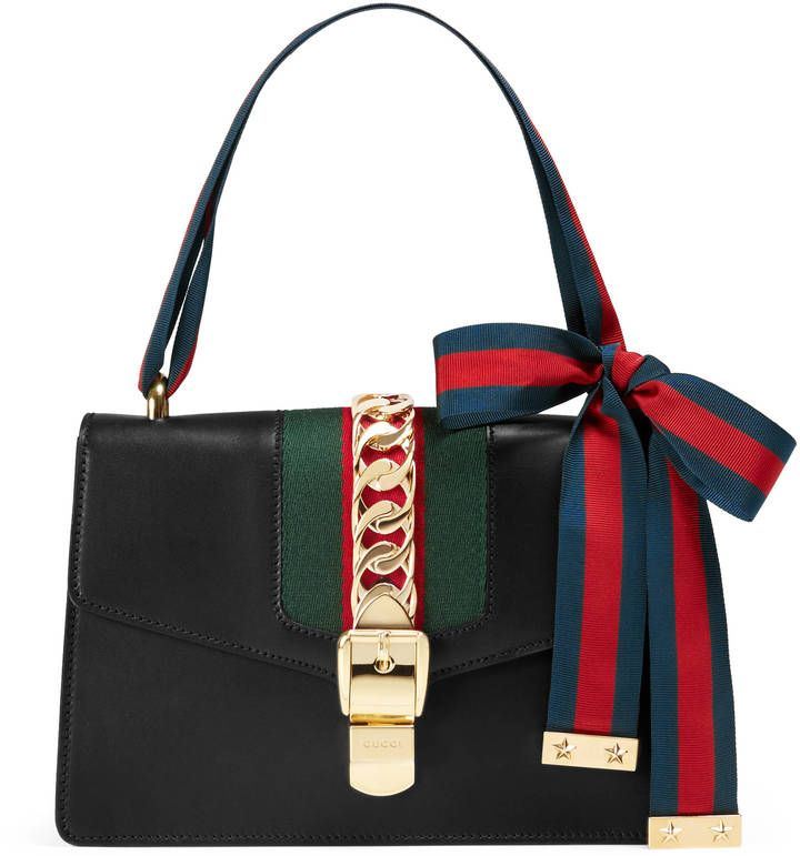 8f30ab9a89 Gucci Sylvie leather shoulder bag at ShopStyle. | The Best Bags ...