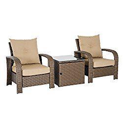 khomo gear titan series patio table chair set cover durable rh miligui at