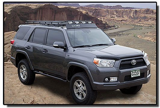 YES! Need this rack! Gobi Toyota 4Runner Stealth Roof Rack ...