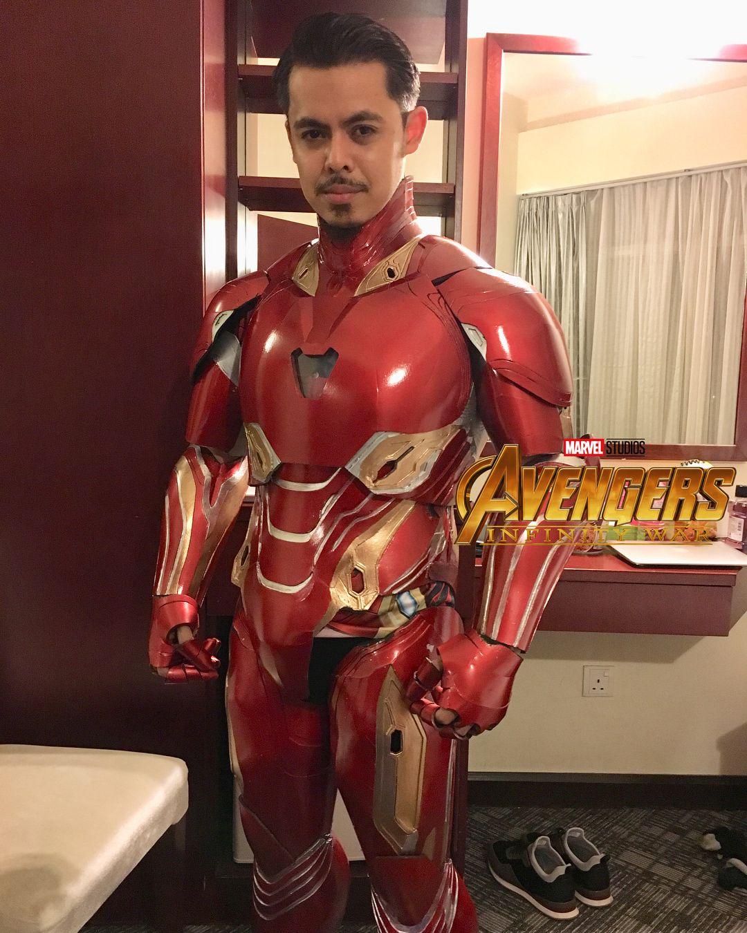 Baju Iron Man