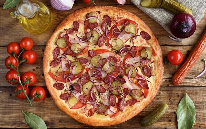 Что нужно для пиццы: популярные рецепты приготовления