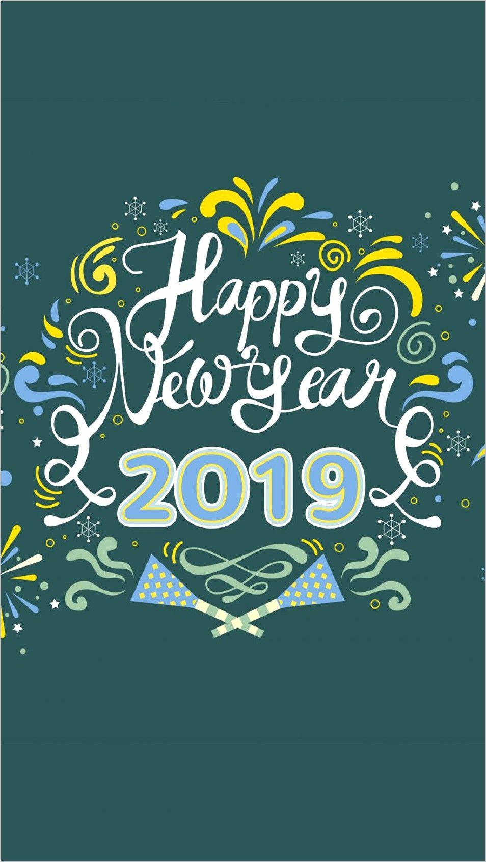 New Mobile Wallpaper 4k Happy New Year 2019 Mobile Wallpaper Wallpaper