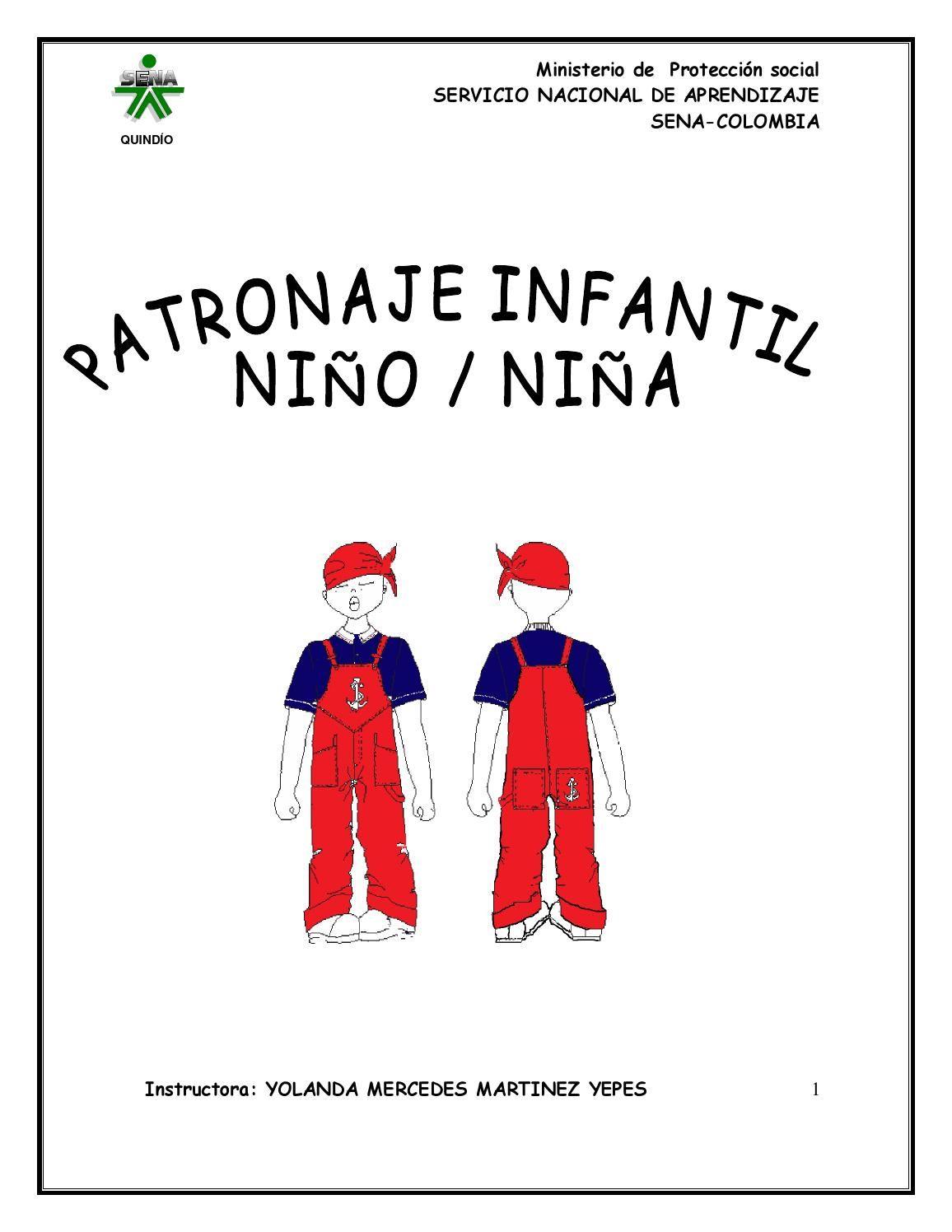 Curso patronaje infantil nino nina octubre 2011 patrones cotura ...