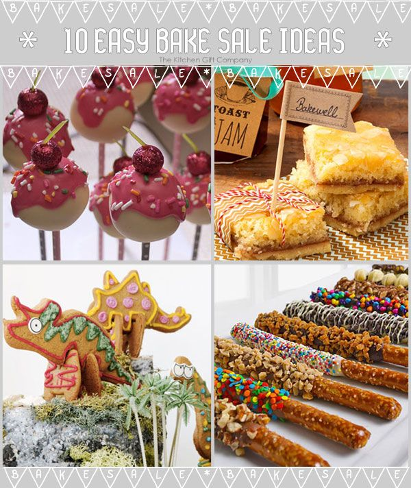 10 Easy Bake Sale Ideas for Kids Cakepop Inspiration Pinterest