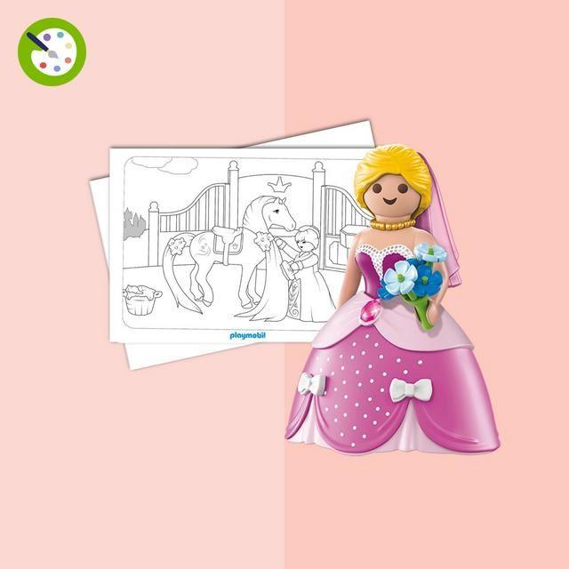 Coloriage Playmobil Princesse Playmobil Projekte Prinzessin