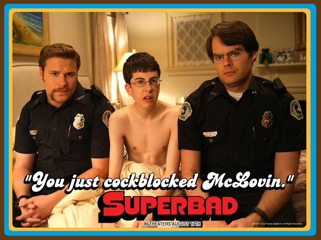 Think, that superbad food penis quote remarkable, rather