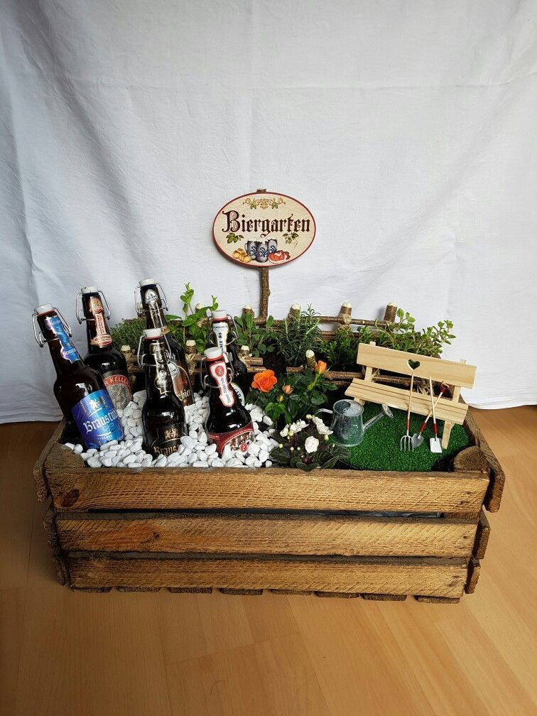 Biergarten Geschenk | a Geschenkidee | Pinterest | Geschenke ...