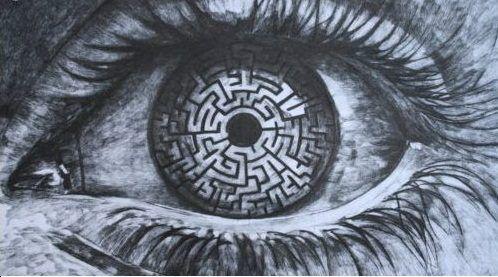 Pin By Brandi Lehman On Eye S Have It Maze Drawing Maze Runner Labyrinth Maze
