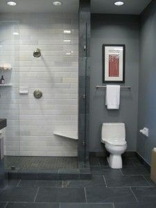 Small Bathroom Paint Color Schemes Grey Pictures 08