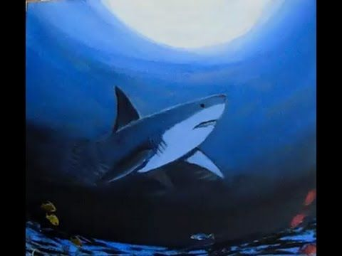 How To Paint An Underwater Scene With Acrylic Paint Lesson 1 Underwater Step By Step Youtube Painting Tutorial Acrylic Painting Seascape Paintings