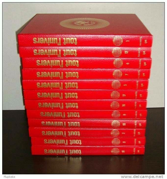 Les 18 volumes de l'encyclopédie Hachette, notre ancien Google ;-)!! 📕📕