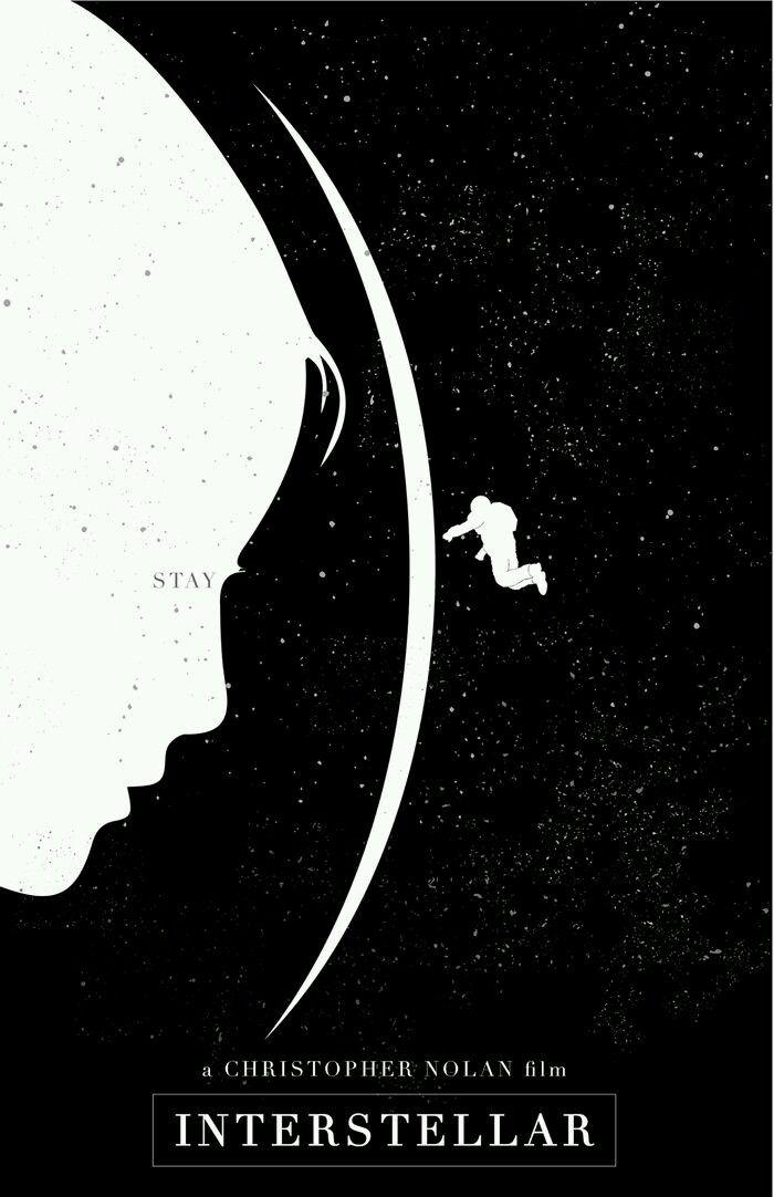 Interstellar Alternative Movie Art Poster Complex