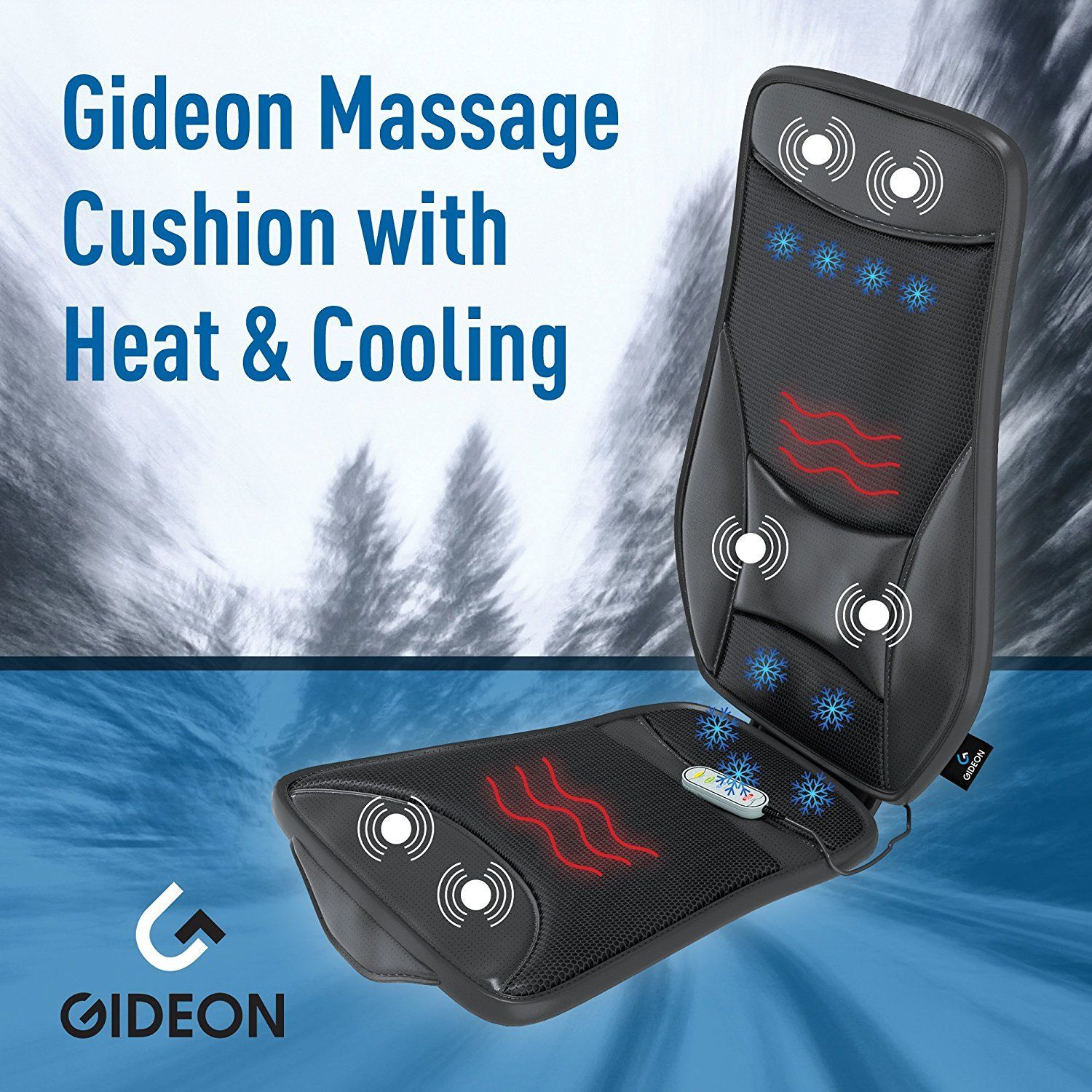 Gideon Luxury Car Seat Cushion Cooling and Heating