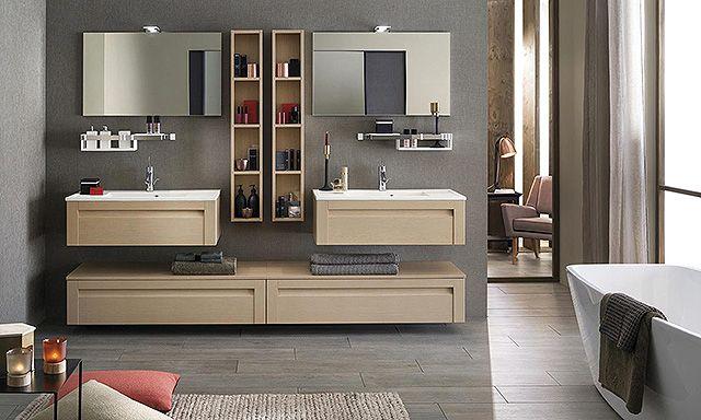 meubles salle de bains unique wood 90 cm delpha espace aubade