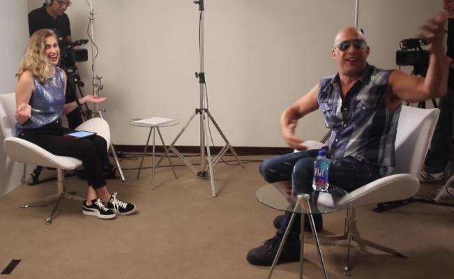 Vin Diesel pide disculpas tras incomodar a periodista | El Puntero