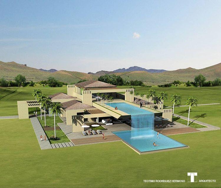 A Luxury Mansion L: Luxury Villa. Project 1 (2009). Teotimo Architect (Cancun