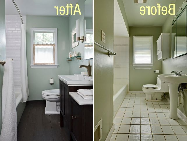 Tiny Bathroom Makeover Google Search Bathroom Pinterest - Simple bathroom makeovers