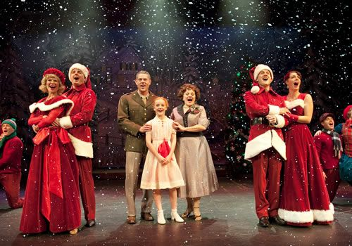 White Christmas Musical.White Christmas Musical Review Arts Club Theatre