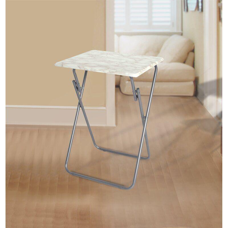 Rebrilliant Jacobsen Metallic Veneer Folding Snack Tray Table Ad Aff Aff Metallic Jacobsen Tray Veneer Tv Tray Set Tray Table Snack Tray Tables