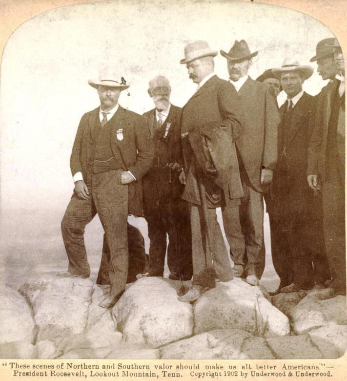 Teddy Roosevelt on Lookout Mtn.
