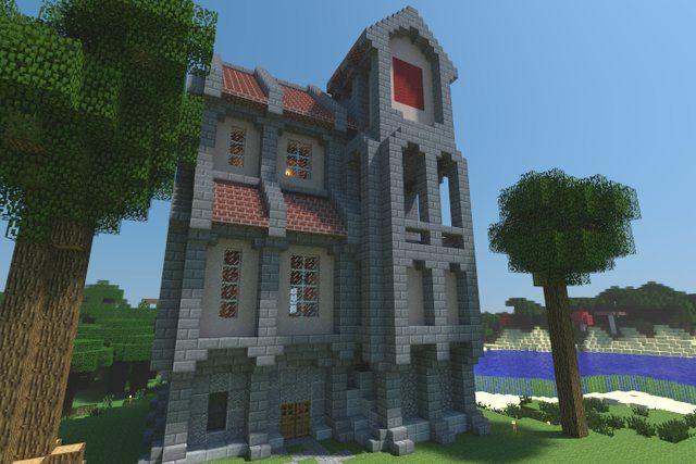 My House On My FinalNewWorld Survival Map Gebäude Und Häuschen - Minecraft mittelalter haus map