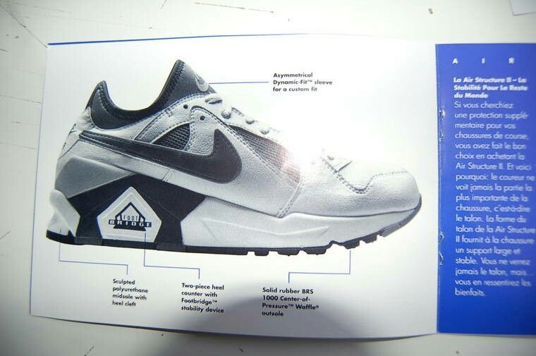 Nike Air Structure II French ad